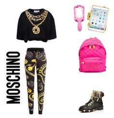 """""""#35"""" by lajoiedevivr ❤ liked on Polyvore featuring Moschino"""