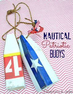 diy patriotic nautic