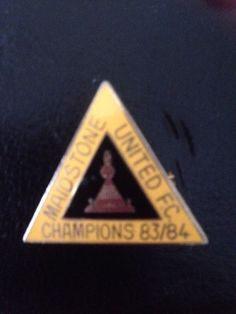 Maidstone United Alliance Premier League Champions Badge 1983/84