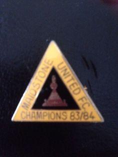 Maidstone United Alliance Premier League Champions Badge 1983/84