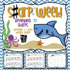 Sharp Week! Sharp Review Sheets for Elementary Students