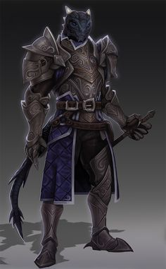 Commission of a character render for a Dungeons and Dragons dragonborn!