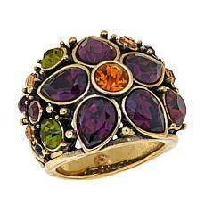 "Heidi Daus ""Fantasy in Florals"" Crystal Ring"