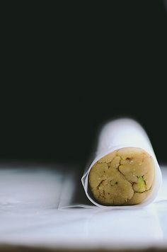 Milk and Pistachio Cookies