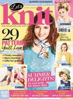 Lets Knit  June 2015 - 轻描淡写 - 轻描淡写