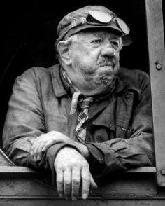 "Michel Simon and Burt Lancaster in ""The Train"" - John Frankenheimer 1964 Jean Renoir, Thomas Man, Star Francaise, Charles Bronson, Actor Studio, Celebrity Stars, Figure Poses, Movie Magazine, Music Film"