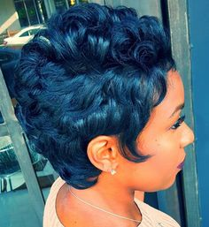 50 Short Hairstyles For Black Women To Steal Everyone S Attention Pretty Woman With Short Dark Hair In Elegant Outfit And Black Ha 25 Latest Short Black Hair You Should See Easy Hairstyles For Medium Hair, Short Black Hairstyles, Hairstyles With Bangs, Weave Hairstyles, Hairstyles Men, Pixie Haircuts, School Hairstyles, New Haircuts, Layered Haircuts