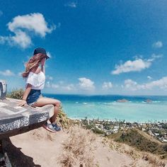 【39ra3939】さんのInstagramをピンしています。 《I don't know where I'm going but I'm on my way. . . . . 🐚💭来年の夏は、どこに住もう? . . ﹏﹏﹏﹏𓆡 #hawaii #mermaid #oahu #love #beach #sea #hiking #relax #Filmwalkr #aloha_life #off #genic_mag #hilife #music #ビーチ #オアフ #海 #HI #island #me #ハワイ #ラニカイ》
