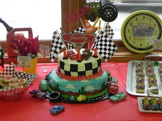 Disney Cars Birthday Party Ideas   Photo 1 of 53   Catch My Party