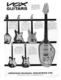 Something similar to this would work for my brief. If I contrast a few of the guitars and showed the different type of music that is normally played on them, maybe compare them to someone who had played a guitar like that.