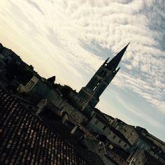 Saint-Émilion à Aquitaine