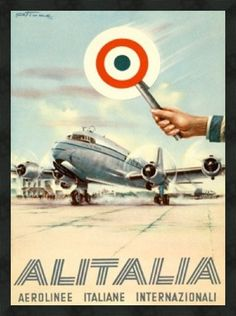 Vintage Aviation Posters Gallery 3