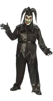 Twisted Jester Plus Size Costume