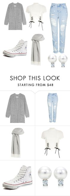 """""""Women's simple"""" by thelittleprincesse ❤ liked on Polyvore featuring By Malene Birger, Topshop, Agnona, River Island and Converse"""