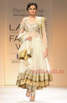 Payal Singhal Indian Bridal Wear Collection 'Resort bridal 2012'.