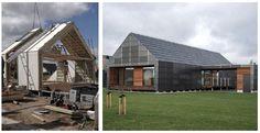Det vedligeholdelsesfri hus bliver til.