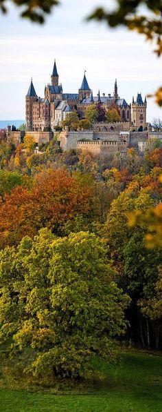 Hohenzollern castle, south of Stuttgart, Germany  Germany Em Nosso Blog muito mais Informações http://storelatina.com/travelling   #viajem #viagem #germany #Alemanha