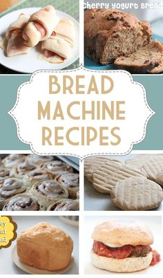 Good bread machine recipes are hard to come by. Here is a great collection of tried and true recipes that you can keep on hand for when you get the itch to bake! Recipes for breakfast, lunch and dinner! Best Bread Machine, Bread Maker Machine, Bread Machines, Panera Bread, Bread Bun, Bread Rolls, Pita Bread, Easy Bread, Ma Baker