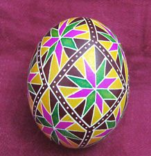 AWESOME Easter Egg Pysanky Pisanka Handpainted Eggs. Decorative, Home decoration