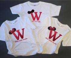 Disney Family Shirts Monogram Disney Shirt by XtremeBoutique