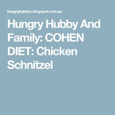 One of the best comfort foods I love is Chicken Schnitzel and mash. We would have it at least once a week and it is something my Hu. Best Comfort Food, Comfort Foods, Margarita Pizza, Chicken Schnitzel, 4 Ingredients, Diet, Banting, Diets, Per Diem
