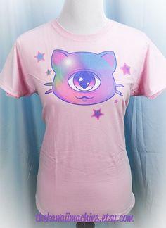 Mewclops Cyclope Kitty Cat graphique T Shirt par thekawaiimachine