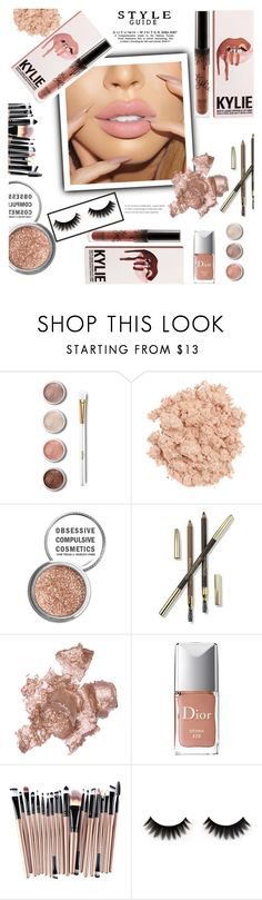 """Shades Of Nude"" by melaniemeran ❤ liked on Polyvore featuring beauty, Terre Mère, Illamasqua, Obsessive Compulsive Cosmetics, Lancôme, By Terry and Christian Dior"