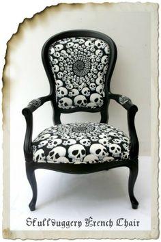 Skullduggery French Chair.