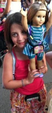 Congratulations Maddy! She won!!! Thanks mom for sending in the wonderful picture of Maddy and her American Girl Doll wearing our pump paks!  Read the full story here http://www.facebook.com/pumpwear