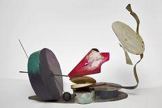Auke de Vries untitled  Size: 50 x 70 x 40 cm  Material: painted metal
