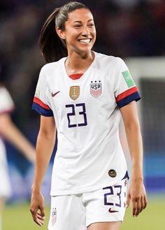 Christen Press #23, USWNT, 2019 FIFA Women's World Cup France Female Soccer Players, Fifa, World Cup, Christening, France, Sports, Tops, Women, Fashion