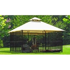 Amazon Com Canine Castle Kennel The Windsor 10 X 10 X 5