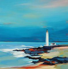 Scurdie Ness ~ Pam Carter, Scottish Artist