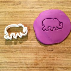 Elephant Cookie Cutter! #3DTS #3DPrinting #CookieCutter #Baking #Elephant #India