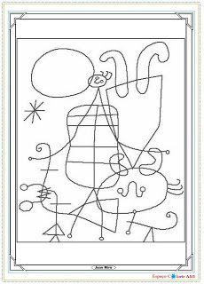 Semente da Arte: Obras de Arte para colorir!