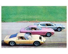 The Lamborghini Family.