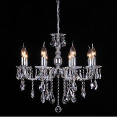 French Inspired 8 Light Crystal Chandelier In Chrome by Lexi Lighting. Get it now or find more All Ceiling Lights at Temple & Webster. Chandelier, Crystal Chandelier, Ceiling Fixtures, Lighting Parts, Master Bedroom Retreat, Chrome, Light, Pendant Lighting, Lights
