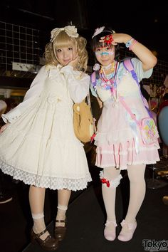 Fairy Kei and Cult Party Kei looks at the Harajuku Heavy Pop #11 party
