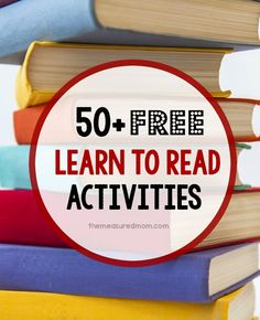 50+ free reading activities and resources