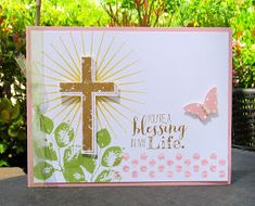 Krystal's Cards: From My Heart - FMH05 - Blessed by God