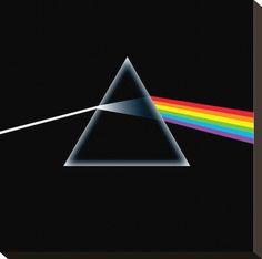 wallpaper pink floyd dark side of the moon   Pink Floyd-Dark Side of the Moon Impressão em tela esticada