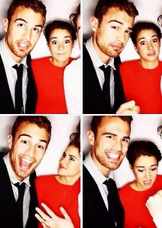 Theo James and shailene woodley