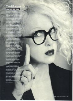 The Cyndi Lauper Archive : For The Fans : Magazine Cuttings