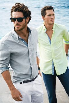 Ollie Edwards and Justice Joslin for Nautica Spring Summer 2015