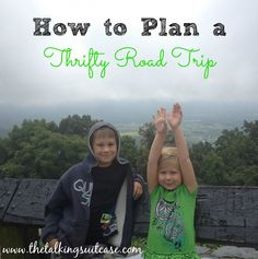 Get my BEST tips on how to plan a thrifty road trip.  Road trips can save you a significant amount of money over flights, but you can maximize your savings by following my easy tips.