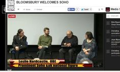 Bloomsbury Welcomes Soho | Included A Live Simulcast To Europe And The United States. Livestream