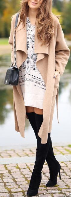 Classic Fall Outfit with OTN Boots