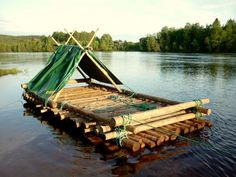 Yes, I need to live somewhere with a river or lake on my property one day, and make one of these to spend the day on!