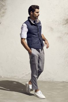spring outfit / Brunello Cucinelli - Spring 2017 Menswear