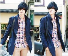 Find images and videos about boy, ulzzang and won jong jin on We Heart It - the app to get lost in what you love. Korean Fashion Tomboy, Korean Fashion Winter, Women's Summer Fashion, Asian Fashion, Boy Fashion, Fashion Models, Won Jong Jin, Korean Male Models, Grunge Dress